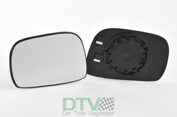 Außenspiegel Spiegelglas für MAZDA 6 ab 08//2007 links Fahrerseite konvex