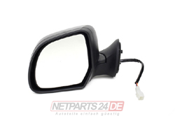 Außenspiegel links, schwarz, Dacia Duster 04/10-