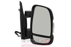 Außenspiegel rechts, schwarz, Fiat Ducato (250/251) 07/06-