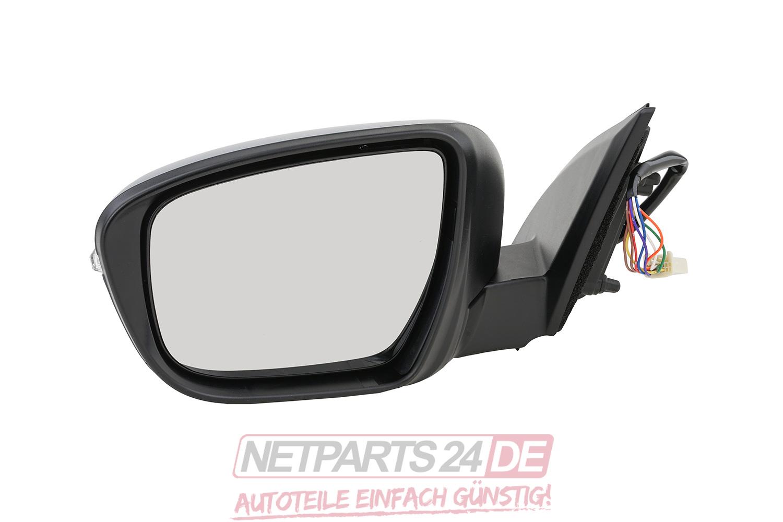 Spiegelglas Spiegel links für Nissan Qashqai J11 2013 Außenspiegel Elektrisch